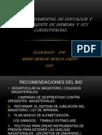 Análisis jurídico de la ley fundamental de educación