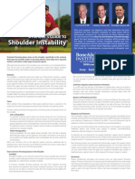 A Patient's Guide to Shoulder Instability