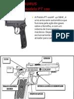 Pistola Taurus Pt100