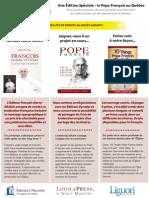 Spécial Pape François