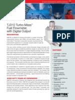 8TJ310 Turbomass Flowmeter