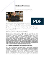 Entrevista Com o Professor Renato Lessa