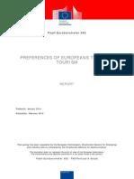Flash Eurobarometer 392 Preferences of Europeans Towards Tourism