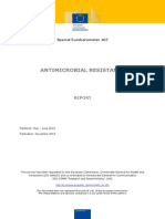 Special Eurobarometer 407 Antimicrobial Resistance