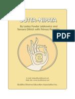 The Sutta Nipata