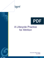 Lifecycle Practice for Call Center Attrition