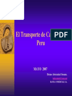 El Transporte de Carga Peru