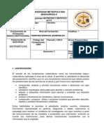 MICROCURRICULO NUTRICION MATEMATICAS 2014
