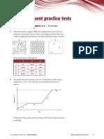 G-Self-Assessment Test 1-IGCSE Chem CD