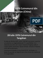 28 Iulie 1976 Cutremurul Din Tangshan (China