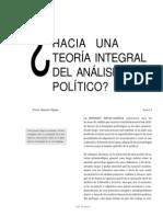 Panorama Del Analisis Politico