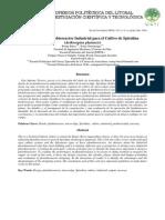 66944340 Diseno de Un Fotobioreactor Industrial Para El Cultivo de Spirulina