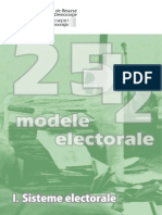 25plus2 Modele Electorale I Sisteme Electorale