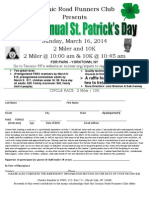 St. Patrick's Day Application 2014