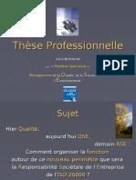 présentation RSE