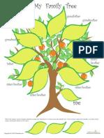 My Family Tree Worksheet