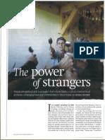 Article 'The Power of Strangers' - ODE Magazine - oktober 2011