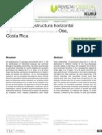 2. Diversidad y estructura horizontal en los bosques tropicales del Corredor Biológico de Osa, Costa Rica.pdf