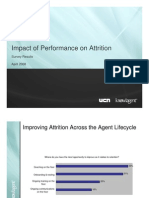 Impact of Performance on Attrition Survey
