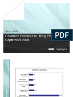 Retention Practices in Hiring Processes Survey