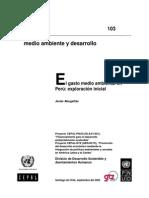 2005 Abugattas - El Gasto Medio Ambiental en Peru