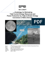 Tidal Current Energy Resources With TISEC
