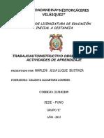 Trabajo_actividades de Aprendizaje