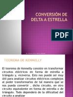 Conversion Resistencias Estrella Delta