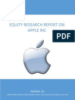 Apple Equity Research Report Final