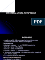 Ischemia Acuta Periferica