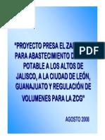 presentación PRESA ZAPOTILLO ABSTECIMIENTO DE AGUA MEXICO.pdf