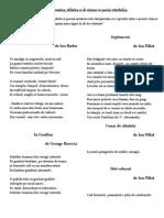 Diversitate Stilistica, Tematica Si de Viziune in Poezia Interbelica