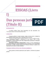 02. DAS PESSOAS - Das pessoas jurídicas