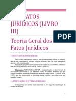 06. DOS FATOS JURÍDICOS - Dos negócios jurídicos, dos atos jurídicos lícitos e do sistema de invalidades