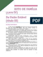 17. DO DIREITO DE FAMÍLIA - Da união estável