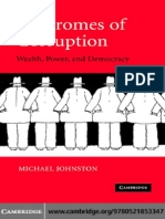 6.1 Johnston, Michael. Syndromes of Corruption