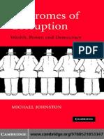 6.1 Johnston, Michael. Syndromes of Corruption