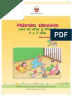 Guia de Materiales Educativos 0 a 3 Aos Caratula1