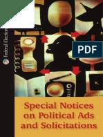 FEC Special Notice Brochure