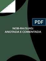 Nob-rh-suas - Anotada e Comentada