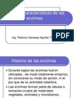 Historia y Caracteristicas de Las Enzimas 1
