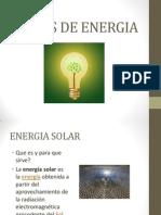 Trabajo 15 Tipos de Energia