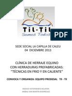 Clinica Herraje Titltil 2013 - Editada
