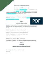 Modelo Estatuto Asociacion Civil11!08!11