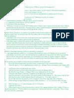Fundamentals Exam Review