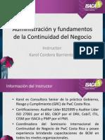 Presentacion BCM Karol Cordero