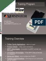 Sunwize MorningstarTriStarMPPT Training
