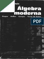 Algebra Moderna I.N Hertein