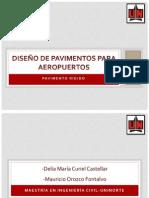 DISEÑO DE PAVIMENTOS PARA AEROPUERTOS