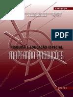 Livro Edufes Pesquisa e Educacao Especial Mapeando Producoes